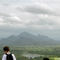 Photos: 湖と山が見えた
