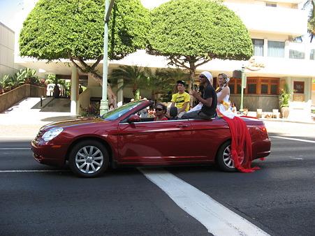 2010ハワイ。ゲイパレード!!