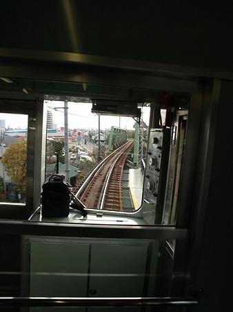 箱根登山電車の車窓(箱根板橋→風祭駅)2