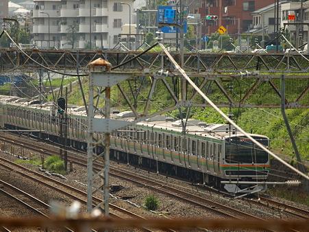 E231系横須賀線(東神奈川)