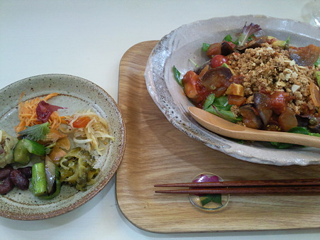 みぃーむーん食堂 豆腐のヘルシータコライス