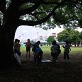 Photos: 2010.06.23 山下公園 雨宿り