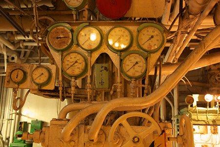 2010.06.23 山下公園 氷川丸 機関室