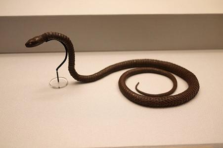 2011.02.06 東京国立博物館 自在蛇置物 宗義 昭和
