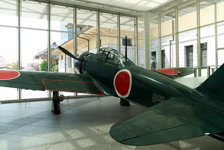 2011.04.11 靖国神社 ゼロ戦 52型