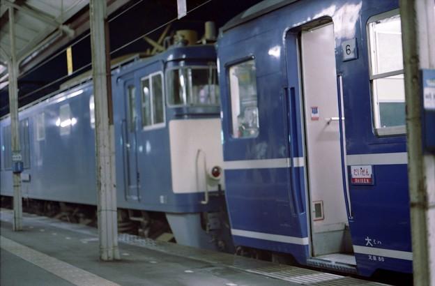 写真: CA12s-急行だいせん、米子駅