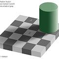 写真: AとBは同じ色