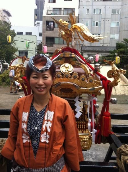 2012年49歳お神輿