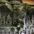 写真: 臼杵石仏・ホキ石仏第一群第三龕 ・第四龕- 07