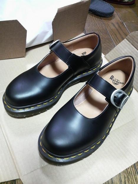 写真 オニューの靴!!ギャルソン.