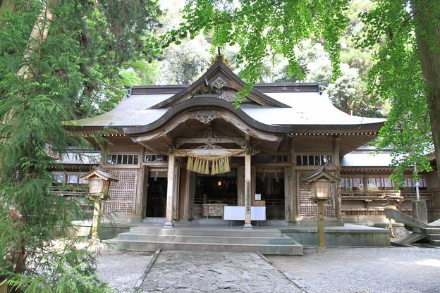 写真: 100513-26九州ロングツーリング・高千穂神社4