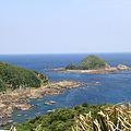 写真: 100514-103佐多岬からの海5