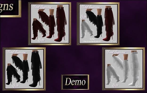 Virtual Impressions, Phillipa Boots