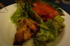 タンドリーチキン&サラダ