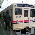 京王6000系(6717F) 準特急新宿行き