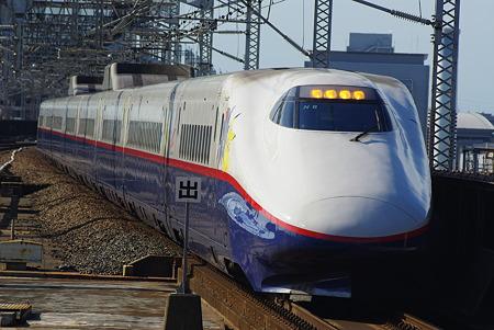 E2系N9編成 (ポケモン新幹線) 長野新幹線『あさま』532号 -その2-