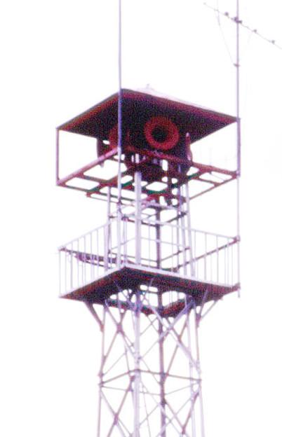 s99-26a 火の見櫓の物見台