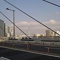 中央大橋からスカツ