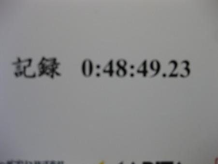 マラソン大会記録