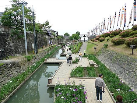 高瀬裏川花しょうぶまつり(1)