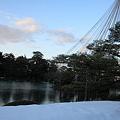 Photos: 兼六園 霞ヶ池 松の雪つり2