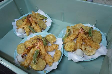 みんなでわいわい食べる天ぷら