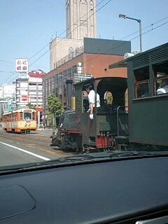 Photos: 市内電車と坊っちゃん列車