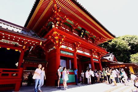 鶴岡八幡宮桜門
