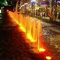 噴水のライトアップ 2