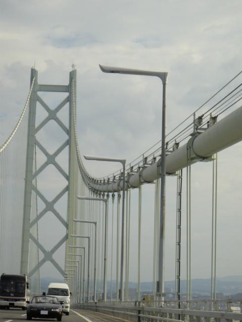 明石海峡大橋を渡るVR-Limited
