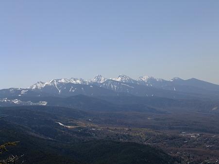 八ヶ岳山塊全容