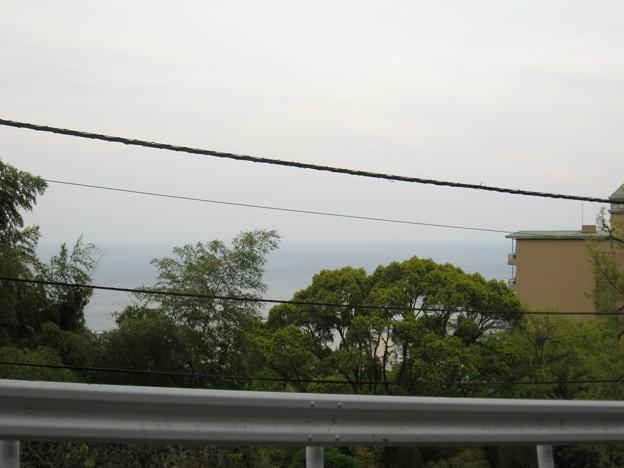 写真: かんぽの宿からの風景