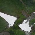 三角残雪三様2
